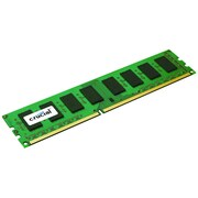 Crucial 4GB, 240-pin DIMM, DDR3 PC3-12800 Memory Module
