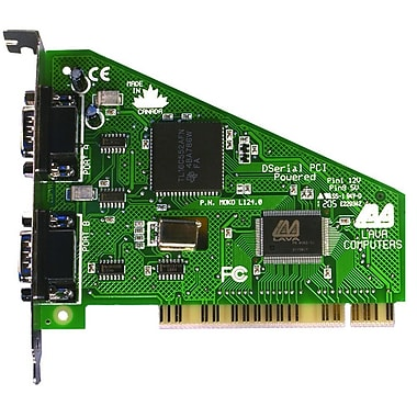 Lava™ DSerial-PCI 9-pin Dual Port Serial Card