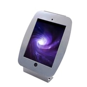 Mac Locks® Space Enclosure Kiosk For iPad Mini, Silver