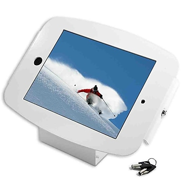 Mac Locks® Space Enclosure Kiosk For Apple iPad, White