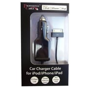Professional Cable™ i-Charge 30-Pin Car Charger For iPod/iPhone, Black