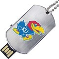 US Digital Flashscot Flash Tag 8GB USB 2.0 Kansas Jayhawks Logo Flash Drive