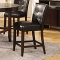 Modus Bossa 26'' Bar Stool  (Set of 2); Black