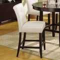 Modus Bossa 26'' Bar Stool  (Set of 2); White