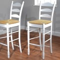 TMS 30'' Ladder Back Stool (Set of 2)