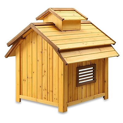 Pet Squeak Bird Dog House; Medium (36.25''