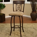 American Heritage Artista Swivel Bar Stool with Cushion