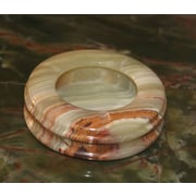Marble Products International Onyx Ashtray