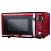 Nostalgia Electrics 0.7 Cu. Ft. 700W Retro Series Countertop Microwave Oven; Red