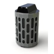 Frost 42-Gal Stingray Waste Receptacle; Black