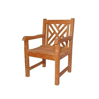 Anderson Teak Vilano Dining Arm Chair