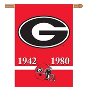 BSI Products NCAA 2-Sided Banner; Georgia Bulldogs - Champ Years