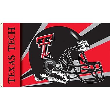 BSI Products NCAA Helmet Design Traditional Flag; Texas Tech