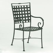 Woodard Sheffield Dining Arm Chair; Graphite