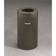 Glaro, Inc. RecyclePro Value Series 23-Gal Single Stream Industrial Recycling Bin; Brown