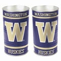 Wincraft NCAA Tapered Wastebasket; Washington - ''W'' Logo
