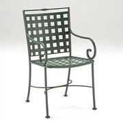 Woodard Sheffield Dining Arm Chair; Graphite