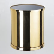 Windisch by Nameeks Waste Basket with Open Top; Polished Nickel