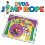 Redmon for Kids Fun and Fitness Kids Comprehensive DVD and Jump Rope