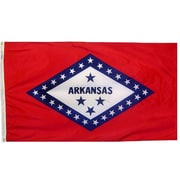 Annin Flagmakers Arkansas State Flag; 3' x 5'