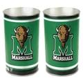 Wincraft NCAA Tapered Wastebasket; University of Marshall