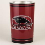 Wincraft NCAA 4 Gallon Metal Trash Can; Southern Illinois