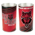 Wincraft NCAA Tapered Wastebasket; Arkansas State U