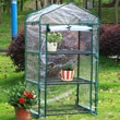 Arcadia Garden Products 3 Tier 1.5 Ft. W x 2.5 Ft. D Growing Rack Greenhouse