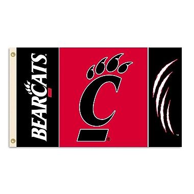 BSI Products NCAA Traditional Flag; Cincinnati
