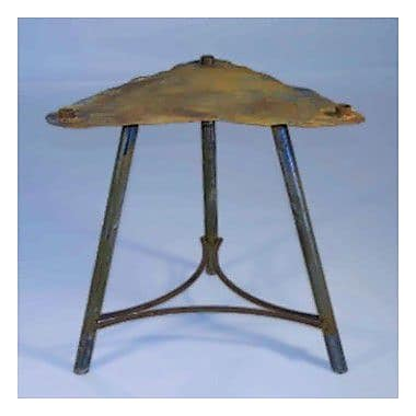 Patina Products Riser Stand Fire Pit; 24 ''H