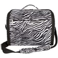 Travelon Messenger Bag; Zebra