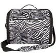 Travelon Messenger Bag; Zebra
