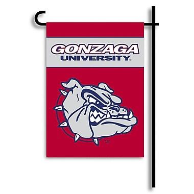 BSI Products NCAA 2-Sided Garden Flag Set; Gonzaga