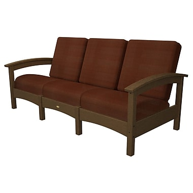 Trex Rockport Club Sofa; Tree House / Chili