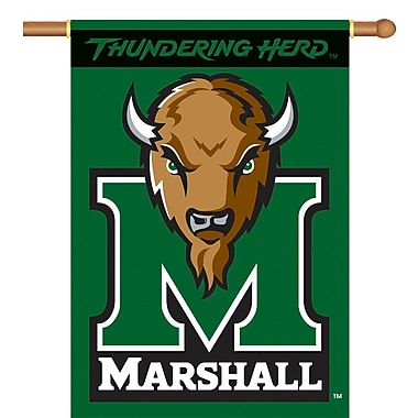 BSI Products NCAA 2-Sided Banner; Marshall