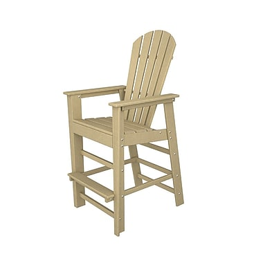 POLYWOOD South Beach 30'' Bar Stool; Sand
