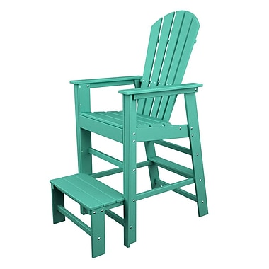 POLYWOOD South Beach 30'' Bar Stool; Aruba