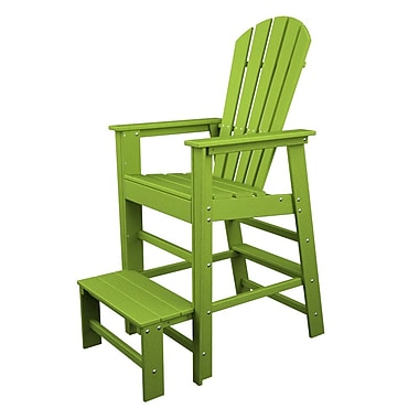 POLYWOOD South Beach 30'' Bar Stool; Lime