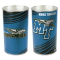 Wincraft NCAA Tapered Wastebasket; University of Middle Tennessee State