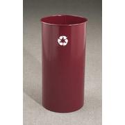 Glaro, Inc. RecyclePro Single Stream Open Top 18 Gallon Industrial Recycling Bin