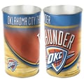 Wincraft NBA Tapered Wastebasket; Oklahoma City Thunder