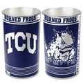 Wincraft NCAA Tapered Wastebasket; TCU