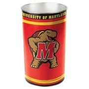 Wincraft NCAA 4 Gallon Metal Trash Can; Maryland