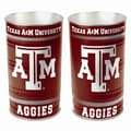 Wincraft NCAA Tapered Wastebasket; Texas A&M