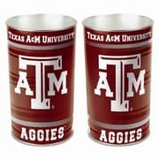Wincraft NCAA 4 Gallon Metal Trash Can; Texas A&M