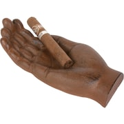 Blue Ridge Fitness Novelty Metal Hand Shaped Cigar Holder and Ash Tray