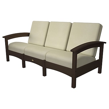 Trex Rockport Club Sofa; Vintage Lantern / Bird's Eye