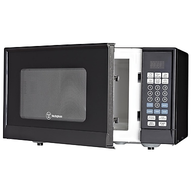 Westinghouse 0.9 Cu. Ft. 900W Countertop Microwave; Black