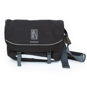 Backside Messenger Bag; Wood/Bronze