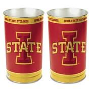 Wincraft NCAA 4 Gallon Metal Trash Can; University of Lowa State